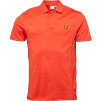 Lyle And Scott Fitness Mens Campbell Training Polo Scooter Red