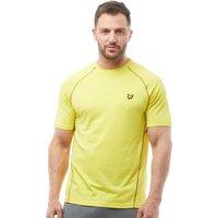 Lyle And Scott Fitness Mens Jones Training T-Shirt Sports Yellow