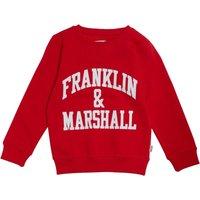 Franklin & Marshall Junior Boys Sweat Mars Red