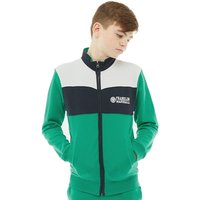 Franklin & Marshall Junior Boys French Terry Contrast Sweat Bright Green