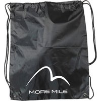More Mile Gym Sack Black
