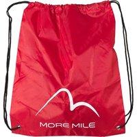 More Mile Gym Sack Red