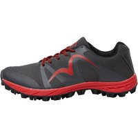 More Mile Mens Cheviot 4 Trail Running Shoes Grey/Red
