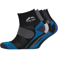 More Mile Womens Five Pack Cheviot Trail Running Socks Various