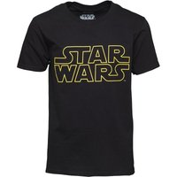 Star Wars Logo Boys T-Shirt Black