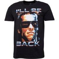 Terminator Mens Ill Be Back T-Shirt Black