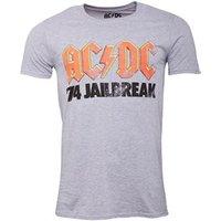 AC/DC Mens Jailbreak T-Shirt Grey