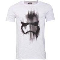 Star Wars Mens Trooper Mask T-Shirt White