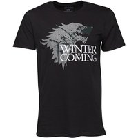 Game Of Thrones Mens Winter Is Coming T-Shirt Black