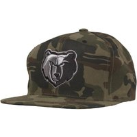 Mitchell & Ness Mens Memphis Grizzlies Woodland Camo Snapback Cap Camo