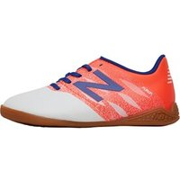 New Balance Junior Furon 2.0 Dispatch IN Indoor Football Boots White