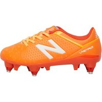 New Balance Junior Visaro Control SG Football Boots Lava