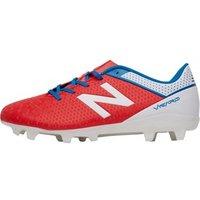 New Balance Junior Visaro Control FG Football Boots Atomic