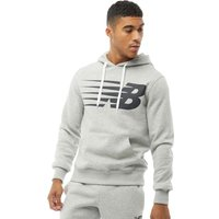 New Balance Mens Pullover Hoody Athletic Grey