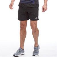 New Balance Mens 7 Running Shorts Black