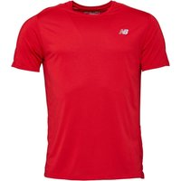 New Balance Mens Accelerate Running Top Team Red