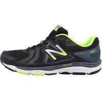 New Balance Mens M670 V5 Stability Running Shoes Black/Grey