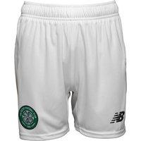New Balance Infant Boys CFC Celtic Home Shorts White/Green
