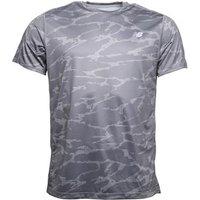 New Balance Mens Accelerate Printed Running Top Black/Grey