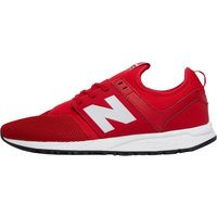 New Balance Mens 247 Classic Pack Trainers Red/White