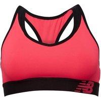 New Balance Womens Pace Sports Bra Top Alpha Pink
