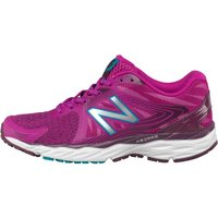 New Balance Womens W680 V4 Neutral Running Shoes Pink