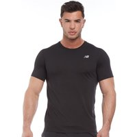 New Balance Mens Accelerate Running Top Black