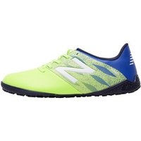 New Balance Junior Furon Dispatch TF Astro Football Boots Toxic/Pacific/Abyss