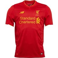 New Balance Mens LFC Liverpool Home Shirt Red