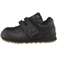 New Balance Infant 574 Velcro Trainers Black