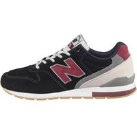 New Balance Mens 996 Trainers Black/Red