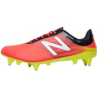 New Balance Mens Furon 2.0 Dispatch SG Football Boots Bright Cherry at MandMDirect.com