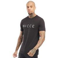 NICCE Mens Hassium T-Shirt Black