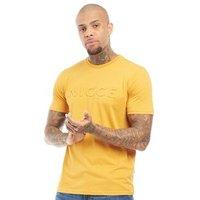 NICCE Mens Emboss T-Shirt Golden Yellow