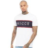 NICCE Mens Club T-Shirt White