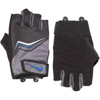 Nike Mens Core Lock Weight Training Gloves Flint Grey/Black/Game Royal