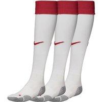 Nike Mens Three Pack FCSM Spartak Moscow Away Socks White/Red/Medium Grey