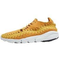 Nike Mens Air Footscape Woven Nm Trainers Desert Ochre/Gold Dart/Off White/Desert Ochre