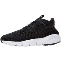 Nike Mens Air Footscape Woven Chukka QS Trainers Anthracite/White/Black