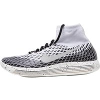 Nike Mens Lunarepic Flyknit Shield Trainers White/Black/Sail/Pale Grey