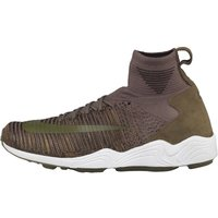 Nike Mens Zoom Mercurial XI Flyknit Trainers Medium Olive/Medium Olive/White