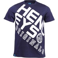 Henleys Mens Ara T-Shirt Navy/White