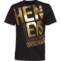 Henleys Mens Bogle T-Shirt Black