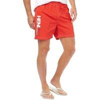Henleys Mens Fender Swim Shorts High Risk Red