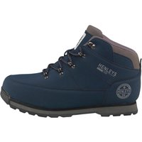 Henleys Mens Oakland Boots Navy
