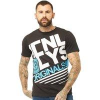Henleys Mens The Edge T-Shirt Black