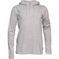 French Connection Mens Sneazy Hoody Light Grey Melange