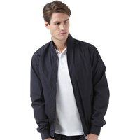French Connection Mens FCUK Sport Baseball Jacket Marine Blue