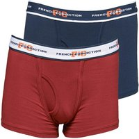 French Connection Boys Two Pack Boxers Classic Navy
