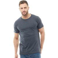 French Connection Mens T-Shirt Marine Melange
